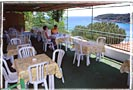 The restaurant terrace: Hotel Alma - Island of Elba