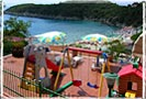 Playground for children: Hotel Alma - Island of Elba